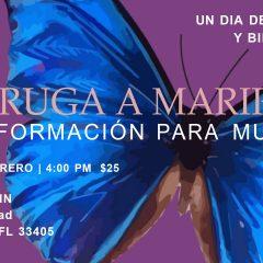 """De Oruga a Mariposa"" conferencia para mujeres en Palm Beach"