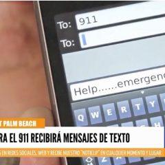 Ahora el 911 recibirá mensajes de texto