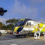 Identifican Peatón atropellado por tren de Brightline
