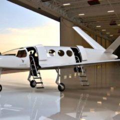 Presentan el prototipo de avión eléctrico para 9 pasajeros