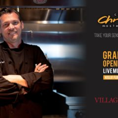 """Master Chef Chis Paul"" en Village Music Wellington"