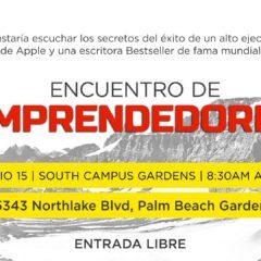 """""""Encuentro de Emprendedores"""" en Palm Beach Gardens"""