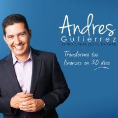 """Nos encontramos con """"Andrés Gutiérrez – Machete Pa' tu Billete"""" en Expolit 2019"""