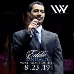"""Eddie Santiago"" en West Palm Beach en Ivy Night Club"