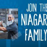 Feria de trabajo para la fábrica de botellas de agua Niagara