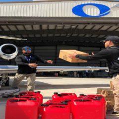 30 vuelos han salido en 3 días de Lantana con ayuda humanitaria a Bahamas