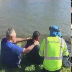 Reconocidos como héroes 2 residentes de Port St. Lucie por salvar a un landscaper