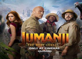 Jumanji – The Next Level, de estreno mundial este fin de semana.