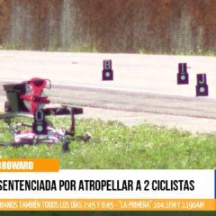 Sentenciada Por Atropellar a 2 Ciclistas