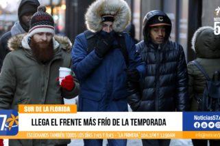 LLEGA EL FRENTE MÁS FRÍO DE LA TEMPORADA