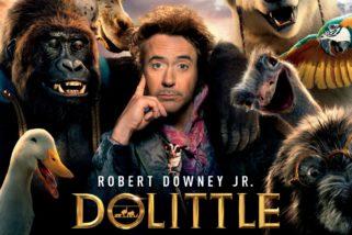 """""""DOLITTLE"""" con ROBERT DOWNEY JR. Estreno 16 de enero"""